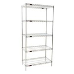 Refrigerator wire storage shelving unit for storage of Supplies, Boxes, Totes