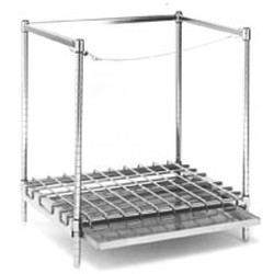 "24"" x 48"" x 33"" Style ""A"" Tank Rack, Includes: 1 Dunnage Mat with Frame. (1) 3-Sided Frame. (4) 33"" Posts. 1 Cable Assembly. Shipped Knocked-Down., #SMS-69-STR2448A"