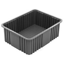 "10-7/8"" x 16-1/2"" x 3-1/2"" Grey Tote Box, Fits Ts1417 Slide System, #SMS-69-TB1016-3"