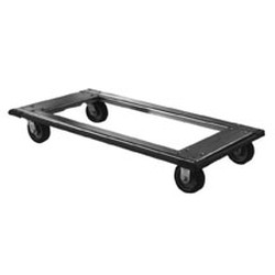 "24"" x 60"" Aluminum Truck Dolly, Swivel/Brake Caster Type, 900 Lb Caster Load Rate Each, #SMS-69-TD2460-BSP"