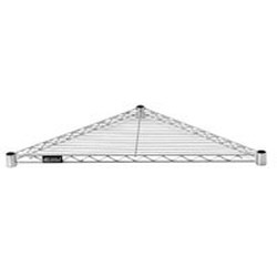 "18"" Wide Wire Triangle Shelf. for Use with Standard Shelving Posts, #SMS-69-TR18C"