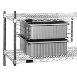 "14"" x 17-1/8"" x 10-1/4"" Slide System Fits 21"" Shelf, Adaptable Tote Boxes Are Tb1016-3 and Tb1016-6, #SMS-69-TS1417"