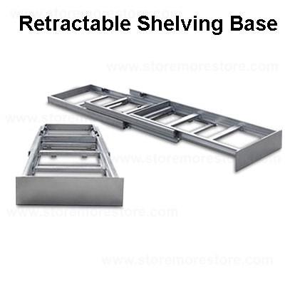 Slider Legal File Shelves for Storing Pocket Folders | Sliding ...