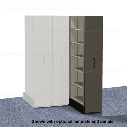 Space Saving Legal File Storage Cabinets | Pull-out Box Shelving ...