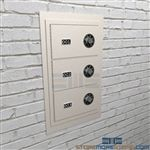 Secure Sheriff pistol Lockers for Sheriff handguns and sidearms