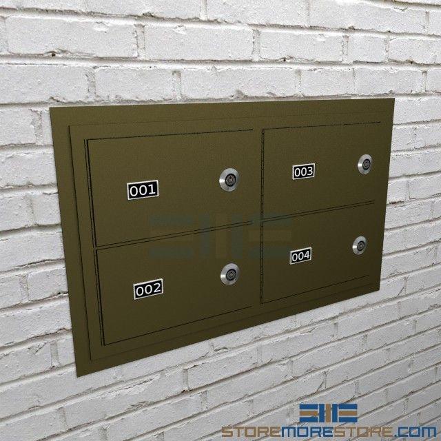 Flush mount handgun locker wall mounted pistol cabinets locking alternative views malvernweather Gallery
