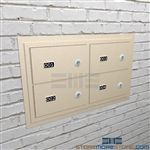 Pistol security lockers wall mounted lockers