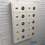 Small arm wall cubbies cabinets are hanging wall cabinets that have locking pistol storage compartments for all types of handguns.