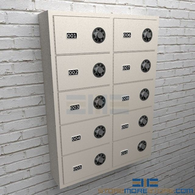 Small Arm Wall Cubbies | Locking Pistol Storage Cabinets | Police ...