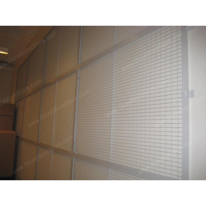 Wall Mounted Art Rack Wire Mesh Display Panels Hanging