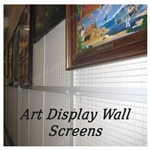 wall framed painting display panel or historic gallery temporary artwork display rack also known as historic framed artwork preservation display rack