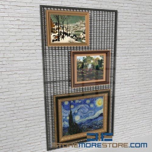Hanging Art Panel Wall Storage Racks 5 Wide X 9 High Sms 73 Arswm95