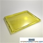 Styromega mail sorter tray IOPC replacement mail shelves PN 711.12 Yellow