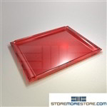 Styromega mail sorter tray IOPC replacement mail shelves PN 711.22 Red