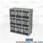 Mail Slots for Office Mailrooms Sorter Stations Furniture Tabletop Cubbies