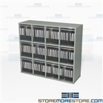 Literature Rack and Organizers Brochure Storage Shelves Catalog Management