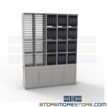 Mailroom Furniture Mail Slots Sorter Cabinets Slots Adjustable Modular Millwork