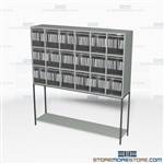 Mailroom Sorters Office Mail Organizers Furniture Mail Center Slots Storage Rack