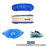 Waterproof Shoe Inn Disposable Plastic Shoe Covers (1,650 per case), #SMS-78-7PLA-110HC