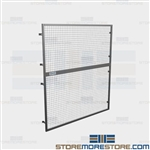 Pallet Rack Fall Guards Safety Panels Overhead Screens Protect Falling Objects