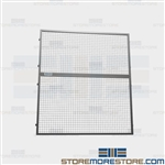 Safety Panels for Pallet Racks Guards Overhead Objects Falling Protection