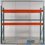 Overhead Safety Shields for Racks Protecting Employees Falling Objects Pallets