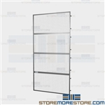 Pallet Rack Safety Panels Falling Object Protection Employees Warehouse