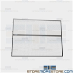 Pallet Rack Guard Panels Falling Objects Safety Employees Protection Warehouse