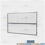 Pallet Rack Wire Safety Screens Fall Guards Shielding Employees Falling Objects