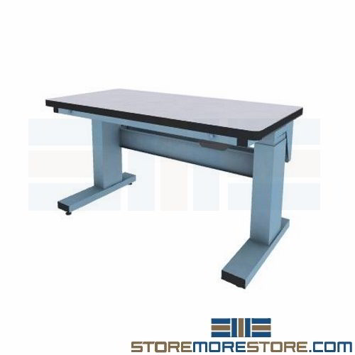 ESD Workstation with Electric Adjustable Height (5'W x 2' 6