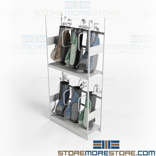 golf bag storage racks 4 0 w x 1 6 d x 8 3 h sms 81 gr481899