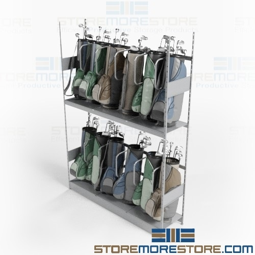 Racks Golf Bag Storage Bag Room Club Storage Shelves