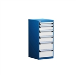 Service Counter Drawer Pedestal Cabinets for customer service counters L3ABG-4025 perfect for automotive industry, parts departments, issue counters for tools and athletics and any industrial or office environment