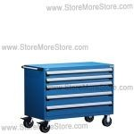 Rousseau R5BKE-3009 Rolling Heavy Duty Drawer Cart