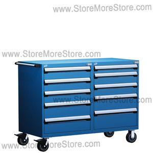 Rousseau R5DHG 3808 Mobile Modular Drawer Cabinet