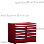 "Heavy-Duty Multi-Drawer Cabinet R5KHG-3404 |10 drawers (48""W X 27""D X 36""H)"
