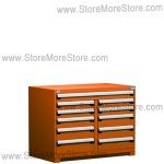 "Heavy-Duty Multi-Drawer Cabinet R5KHG-3406 | 11 drawers (48""W X 27""D X 36""H)"
