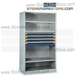 Modular Drawers in Shelving Units R5SGE-7518012 | Industrial Shelves 42 x 24 x 75