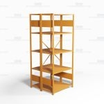 "Open Freestanding Industrial Storage Shelving, Starter Unit, 5 Shelves (36"" Wide x 36"" Deep x 87"" High), #SMS-81-SHD1005B"