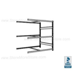 2' Deep Wide Span Shelving and adjustable industrial racking systems are Rousseau SRA5202