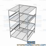 metal shelving racks and cheap metal storage shelves are Rousseau SRD5024W