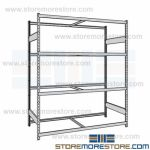 heavy duty wide span wood deck racks and wire storage racks are Rousseau SRD5028