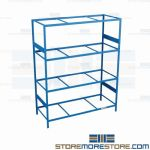 metal warehouse shelving and steel shelving racks are Rousseau SRD5072