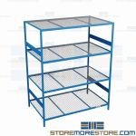 wall shelf unit and industrial metal storage rack are Rousseau SRD5073W