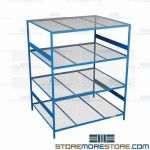 wall storage shelves and heavy duty shelving rack are Rousseau SRD5074W