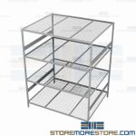 wide span storage shelf and heavy duty shelving unit are Rousseau SRD5078W