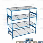 commercial metal shelving units and wide span storage shelf are Rousseau SRD5123W