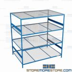 commercial steel racking and metal storage rack are Rousseau SRD5124W