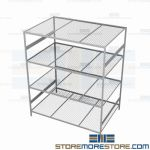 commercial metal shelf and wide span steel storage racking are Rousseau SRD5132W