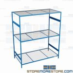 industrial wire shelving and warehouse steel shelf are Rousseau SRD5157W